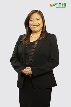 CYNTHIA L. DE LA PAZ, Corporate Secretary